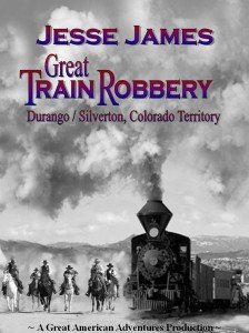 Historic Wild West Horseback Rides, Jesse James Tours, Great Train Robbery