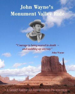 John Wayne Monument Valley Ride