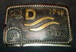 Red River Belt Buckle