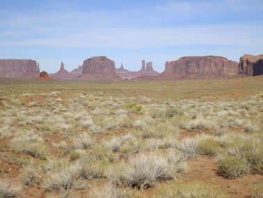 Horseback Riding in Monument Valley, AZ - 2012