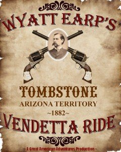 Horseback riding in Tombstone, AZ - Wyatt Earp's Vendetta Ride