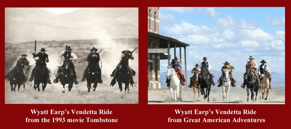 Horseback riding in Tombstone, AZ - Wyatt Earp's Vendetta Ride - 3
