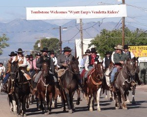 Horseback riding in Tombstone, Arizona