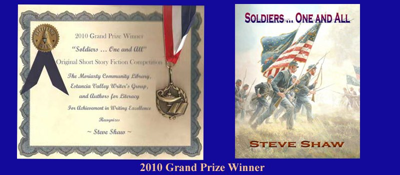 Steve Shaw-2010-Grand-Prize-Winner-Book-Awards
