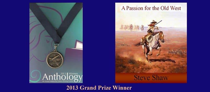 Steve Shaw-2013-Grand-Prize-Winner-Book-Awards