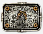 I'm Your Huckleberry Belt Buckle