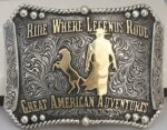 Great American Adventures-Buckle